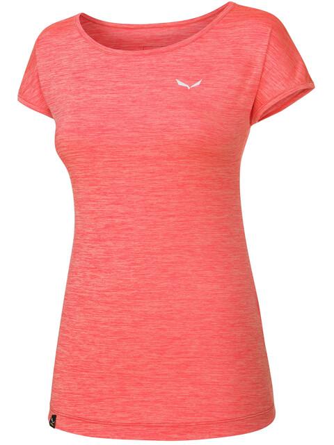 Salewa Puez Melange Dry - T-shirt manches courtes Femme - rouge